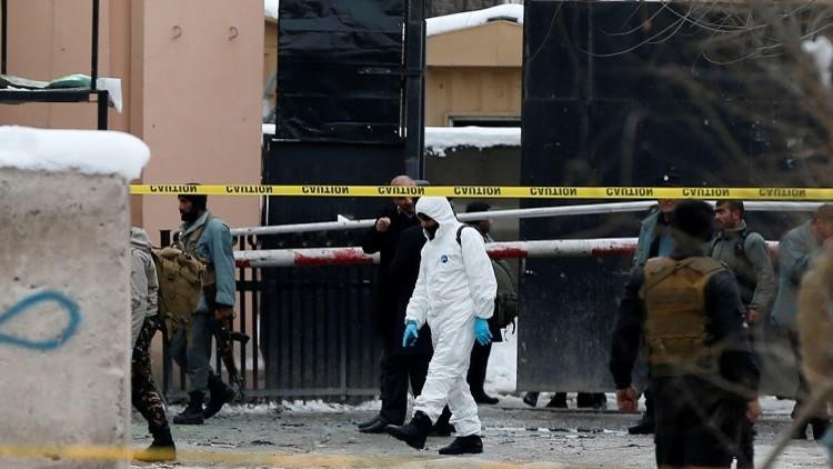 داعش يتبنى التفجير الانتحاري في كابل
