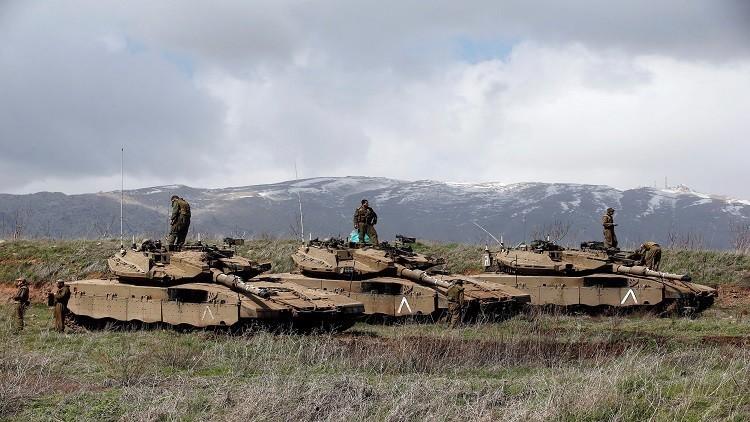 إسرائيل تقصف موقعا للجيش السوري في ريف القنيطرة