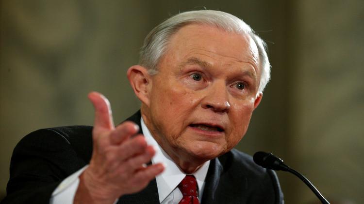 تعيين الجمهوري جيف سيشنز وزيرا للعدل بالولايات المتحدة