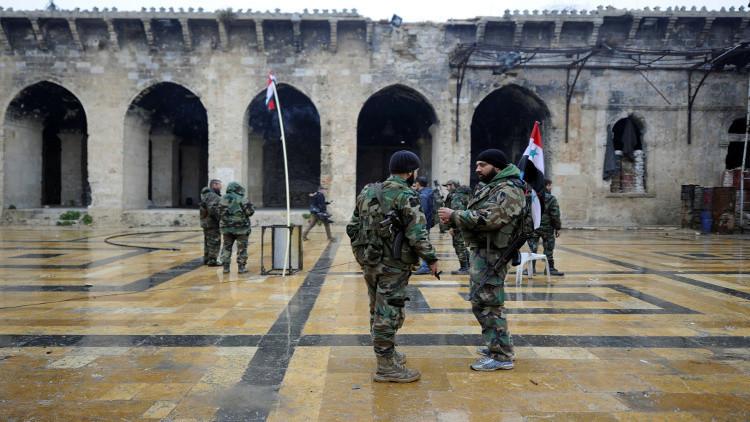 الجيش السوري يكثف عملياته ضد داعش في عدة جبهات
