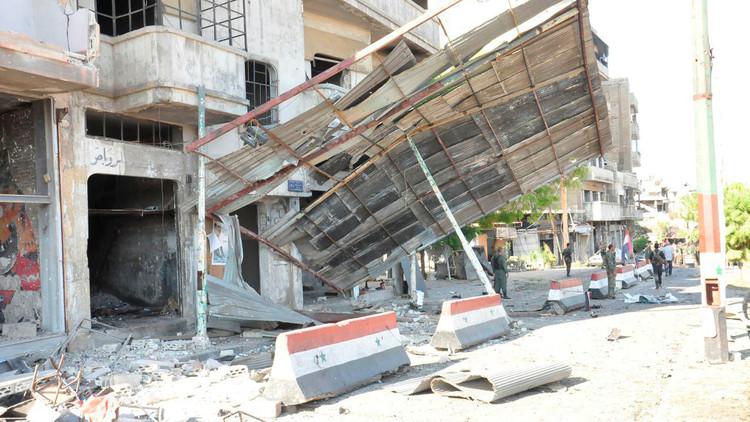 مقتل 3 أشخاص بتفجير في حمص