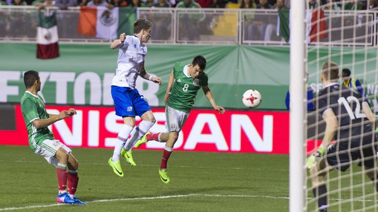 المكسيك تحقق فوزا تاريخيا على آيسلندا
