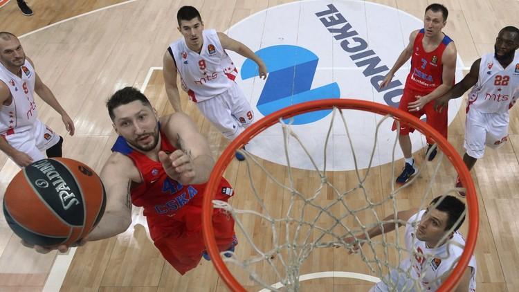 فريق الجيش الروسي يقسو على النجم الأحمر الصربي