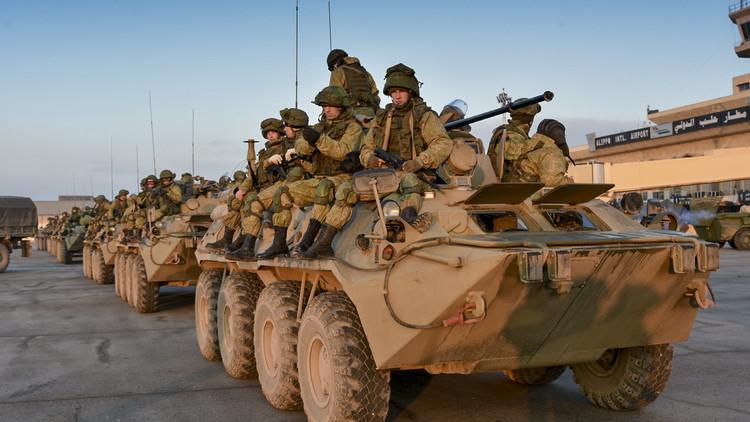 تقرير تلفزيوني عن يوميات العسكريين الشيشان في حلب