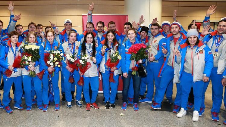 بوتين يهنئ منتخب روسيا الفائز بالألعاب الشتوية الجامعية 2017