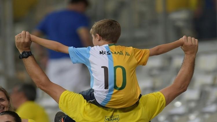 البرازيل والأرجنتين في كلاسيكو العالم