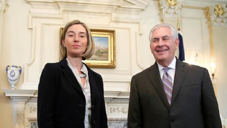 موغيريني: واشنطن أكدت التزامها بالاتفاق النووي مع طهران