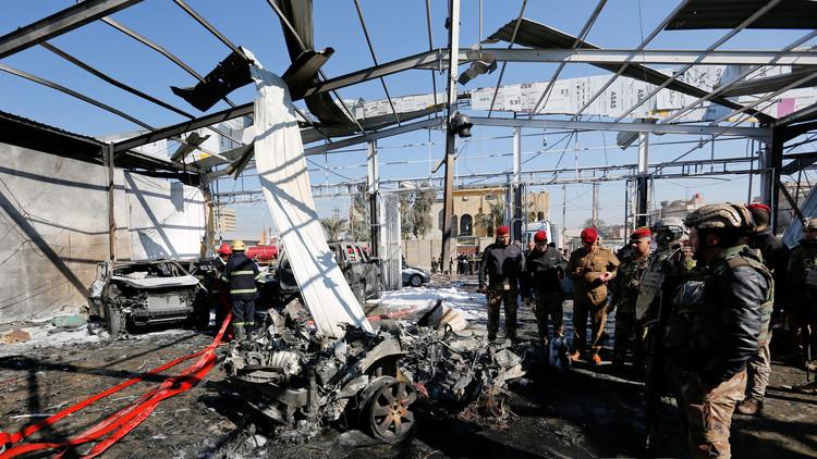 6 قتلى و21 جريحا بسلسلة انفجارات في بغداد