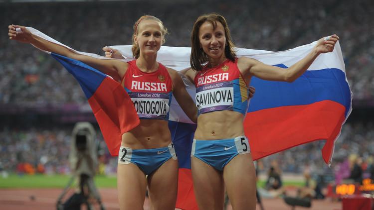 تجريد العداءة الروسية سافينوفا من ذهبية أولمبياد