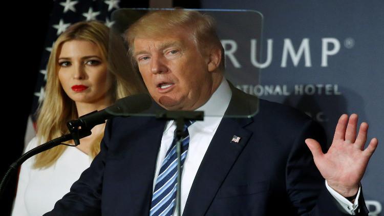 ترامب يكشف سبب فخره بابنته إيفانكا