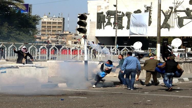 بغداد تؤكد مقتل 5 أشخاص وإصابة 174 باشتباكات السبت