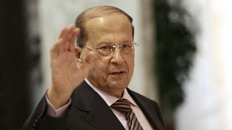 الرئيس اللبناني: حزب الله يكمل الجيش ولا مانع لدي من زيارة دمشق وطهران