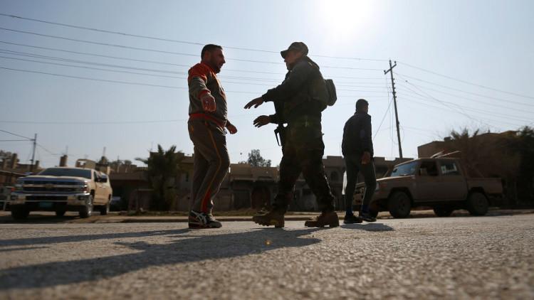 القوات العراقية تشتبك مع