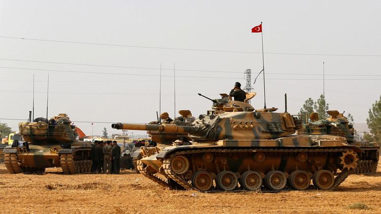الجيش التركي يعزز سيطرته على الباب ويقتل كرديا