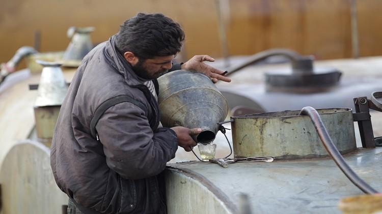 دمشق تستلم مليون برميل من النفط الخام