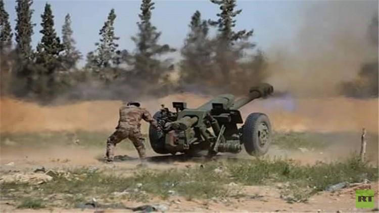 القوات الخاصة السورية تشق طريقها إلى تدمر