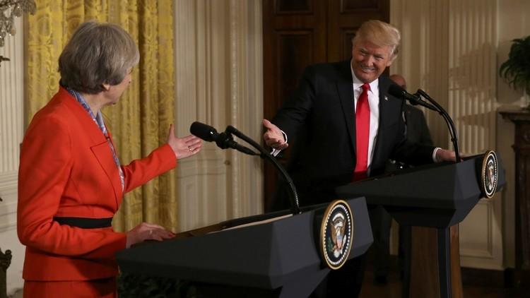 تيريزا ماي: ترامب لا يزال مدعوا لزيارة بريطانيا