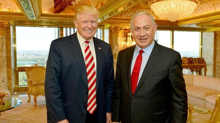ترامب يؤكد دعمه للسلام في الشرق الأوسط حتى إذا لم يتضمن حل الدولتين