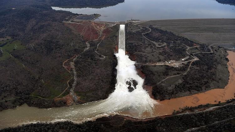 تكاليف ترميم سد كاليفورنيا 200 مليون$ وسكان المنطقة المحيطة يعودون إلى منازلهم