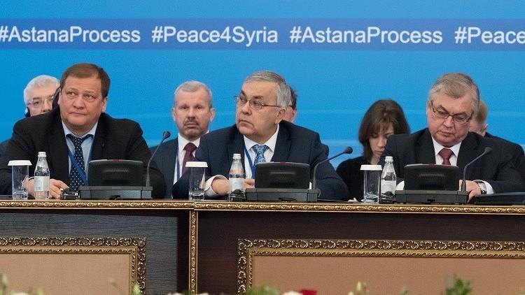 موسكو: الأمم المتحدة تأمل في نجاح مفاوضات أستانا