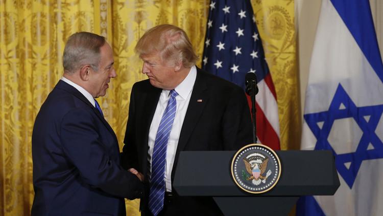 ترامب: حل الصراع الفلسطيني الإسرائيلي قد يقوم على مبدأ الدولة الواحدة
