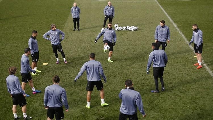 تشكيلة ريال مدريد الرسمية لمواجهة نابولي