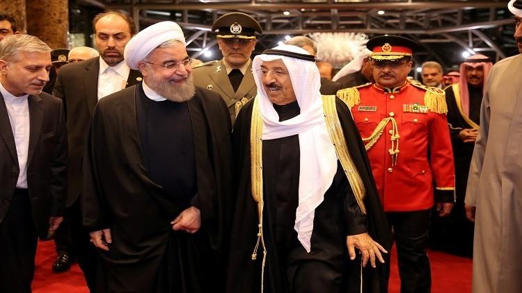 إيران والكويت تؤكدان ضرورة تطوير العلاقات