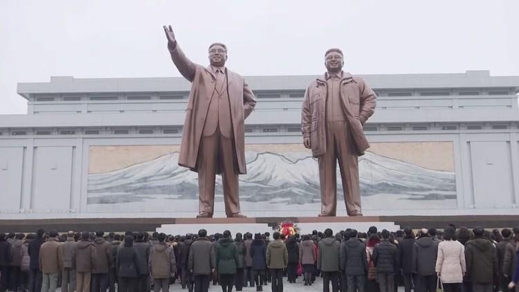 كوريا الشمالية تحتفل بعيد ميلاد الزعيم كيم جونغ إيل