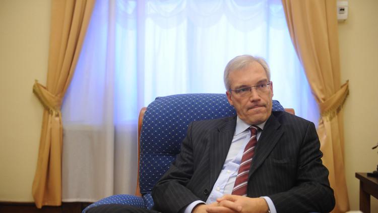 غروشكو: تعزيز قوات الناتو في البحر الأسود يزيد التوتر