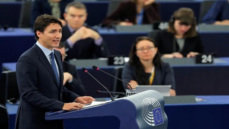ترودو يعتبر تماسك الاتحاد الأوروبي مفيدا للعالم