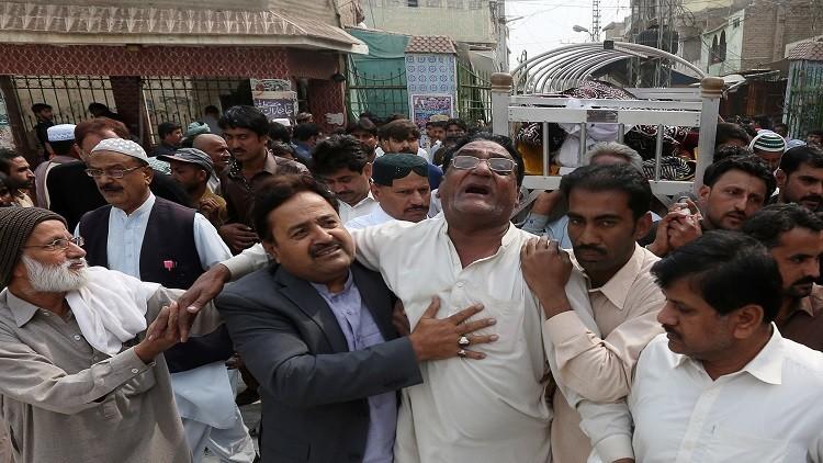بوتين يعزي بضحايا تفجير باكستان