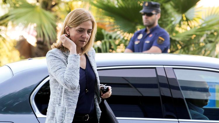 القضاء الإسباني يبرئ الأميرة كريستينا شقيقة الملك