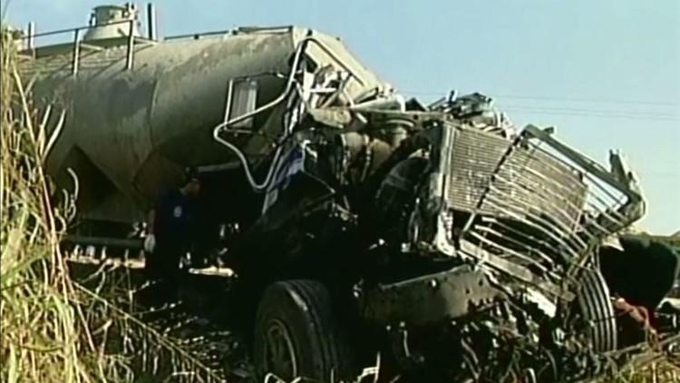 اصطدام حافلة ركاب بشاحنة في ولاية كارابوبو الفنزويلية وسقوط ضحايا