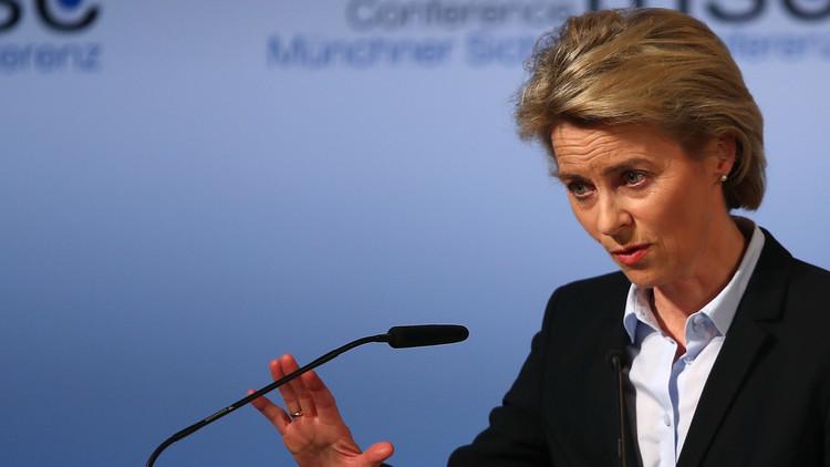 وزيرة الدفاع الألمانية: لا تحولوا الحرب على