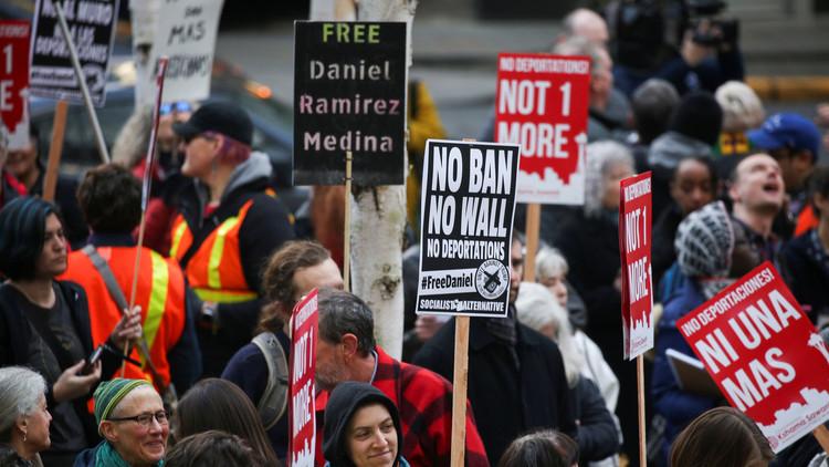 تواصل المظاهرات ضد ترامب لليوم الثاني في أمريكا