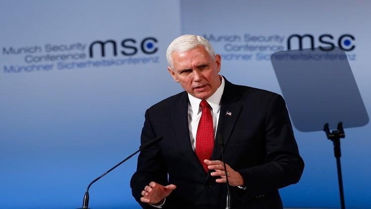 بينس: الولايات المتحدة ستظل بالمرصاد لروسيا