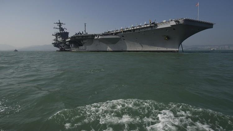 حاملة طائرات أمريكية تبدأ دوريات في بحر الصين الجنوبي
