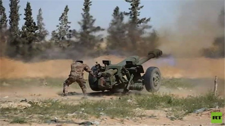 الجيش السوري يواصل عملياته ضد داعش والنصرة
