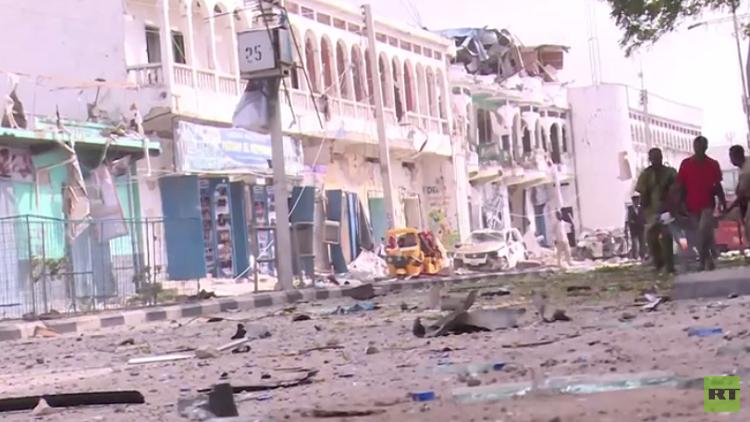 39 قتيلا و40 جريحا بينهم أطفال ونساء في تفجير مقديشو
