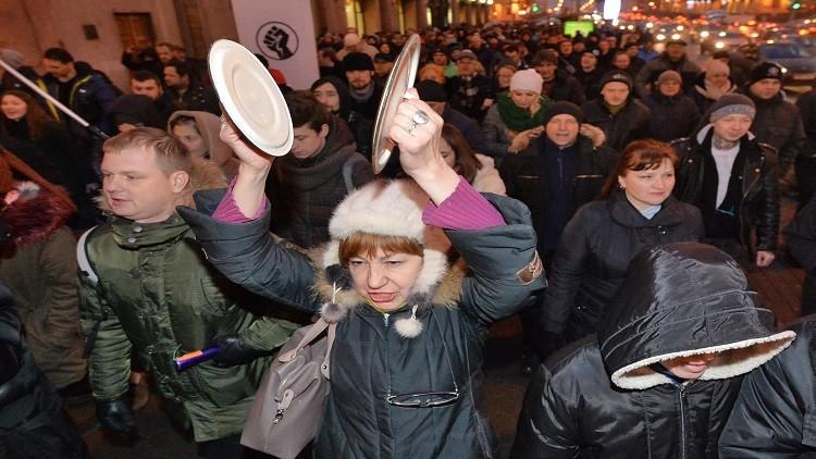 احتجاجات في بيلاروس على