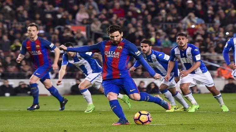 بالفيديو.. برشلونة يخرج من عنق الزجاجة أمام ليغانيس