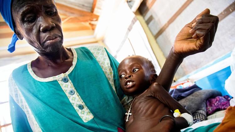 الإعلان رسميا عن مجاعة في مناطق بجنوب السودان