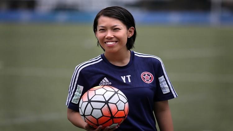 امرأة تقود فريقا للذكور في دوري أبطال آسيا