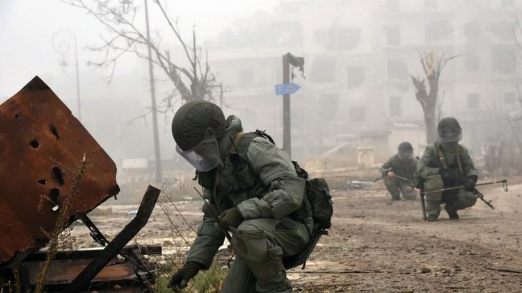 الدفاع الروسية تعلن مقتل 4 مستشارين عسكريين في سوريا