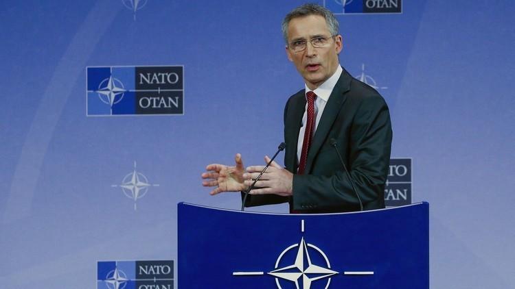 ستولتنبرغ  يعلن دعم الناتو للتحالف الدولي ضد