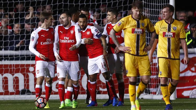 أرسنال يبلغ ربع نهائي كأس الاتحاد الإنجليزي