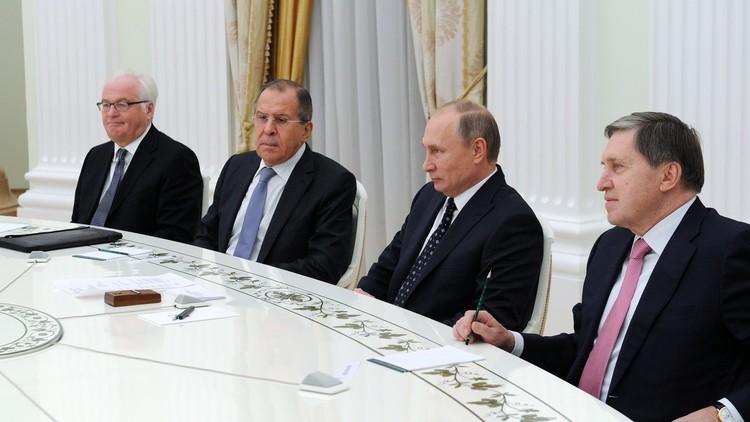 بوتين: تشوركين لم يعرف الهزيمة أبدا