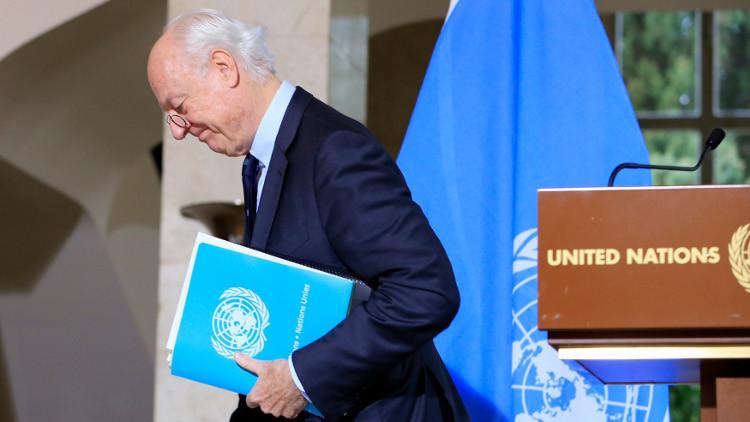 موسكو: دي ميستورا لم يتمكن من تأمين حضور كافة أطياف المعارضة السورية في جنيف