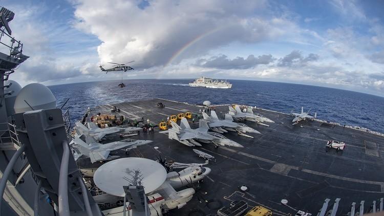 بكين تعارض الدوريات البحرية الأمريكية في بحر الصين الجنوبي