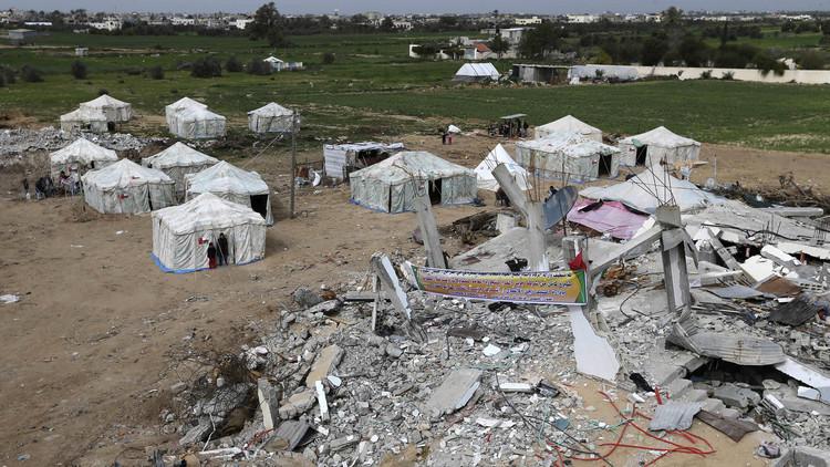 مساعدات سعودية لإعمار قطاع غزة